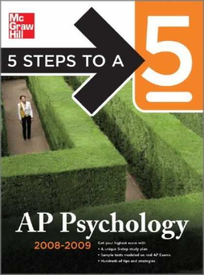 Books About Psychology - 5 Steps to a 5 AP Psychology, 2008-2009 Edition (5 Steps to a 5 on the Advanced