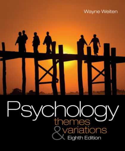 Books About Psychology - Psychology: Themes and Variations (with Concept Charts)