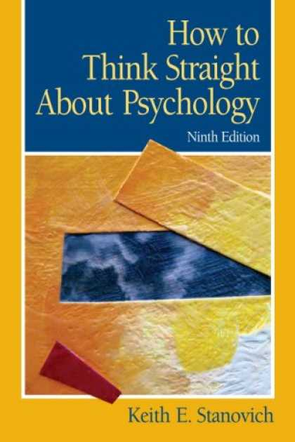 Books About Psychology - How To Think Straight About Psychology (9th Edition)