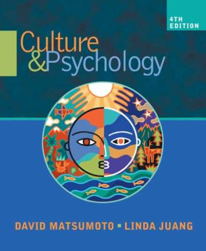 Books About Psychology - Culture and Psychology