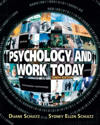 Books About Psychology - Psychology and Work Today (10th Edition) (MySearchLab Series)