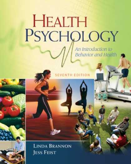 Books About Psychology - Health Psychology: An Introduction to Behavior and Health