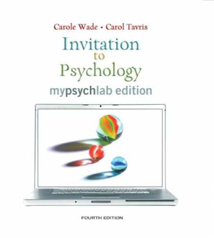 Books About Psychology - Invitation to Psychology, MyLab Edition (with MyPsychLab Pegasus with E-Book Stu