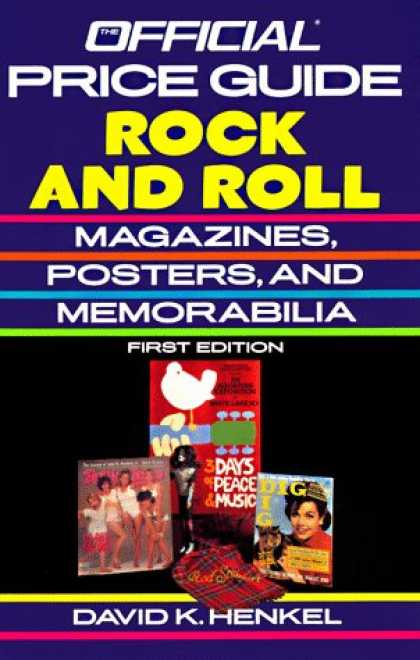Books About Rock 'n Roll - Rock and Roll Magazines, Posters and Memorabilia (Official Identification and Pr