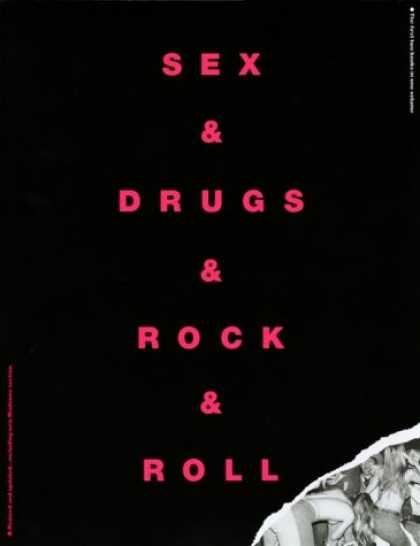 Books About Rock 'n Roll - Sex & Drugs & Rock & Roll