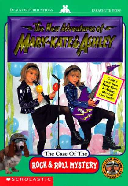 Books About Rock 'n Roll - The Case of the Rock & Roll Mystery (The New Adventures of Mary-Kate & Ashley)