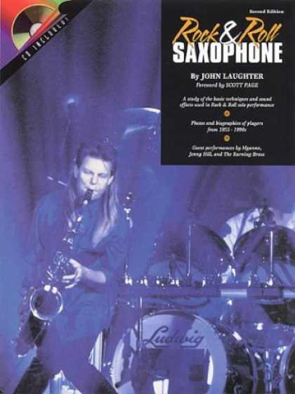 Books About Rock 'n Roll - Rock and Roll Sax: Book/CD Pack