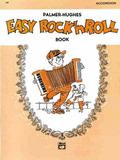 Books About Rock 'n Roll - Palmer-Hughes Accordion Course - Easy Rock 'n' Roll Book