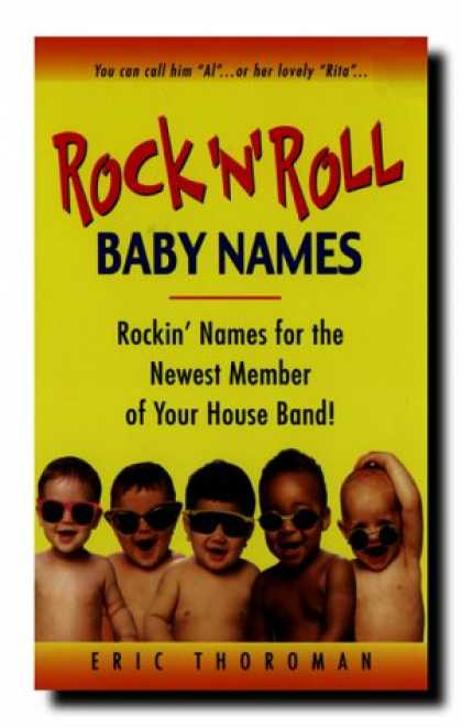 Books About Rock 'n Roll - Rock 'n' Roll Baby Names