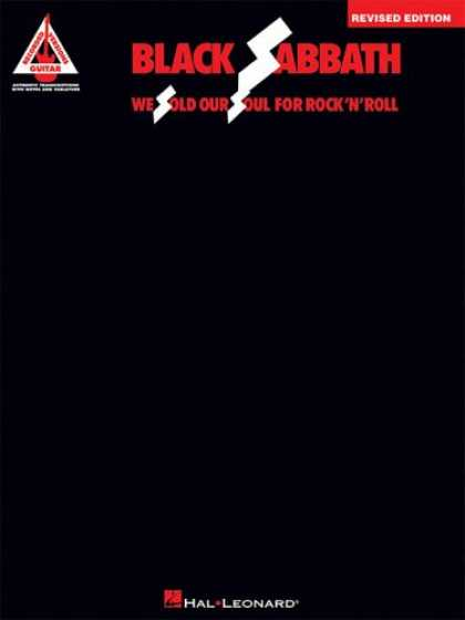 Books About Rock 'n Roll - Black Sabbath - We Sold Our Soul for Rock 'n' Roll: Revised Edition