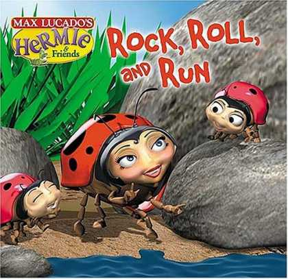 Books About Rock 'n Roll - Rock, Roll and Run (Max Lucado's Hermie & Friends)