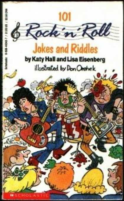 Books About Rock 'n Roll - 101 Rock and Roll Jokes and Riddles