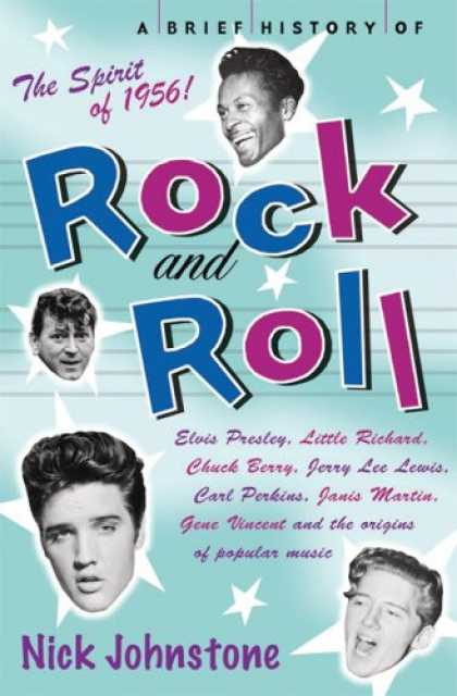 Books About Rock 'n Roll - A Brief History of Rock and Roll