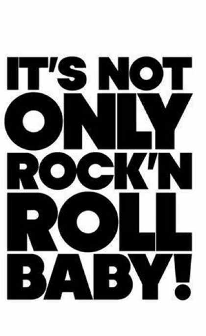 Books About Rock 'n Roll - It's Not Only Rock & Roll baby!