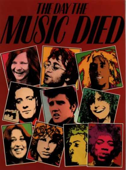 Books About Rock 'n Roll - The Day the Music Died (Plexus): A Rock 'n Roll Tribute
