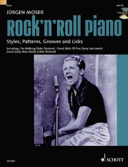 Books About Rock 'n Roll - Moser J Rock'n' Roll Piano