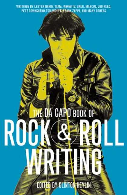 Books About Rock 'n Roll - The Da Capo Book of Rock & Roll