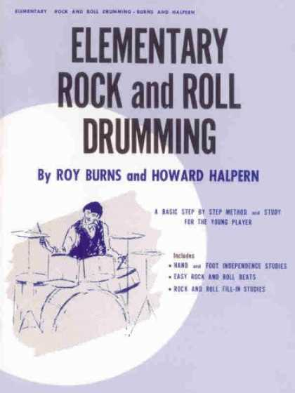 Books About Rock 'n Roll - Elementary Rock and Roll Drumming
