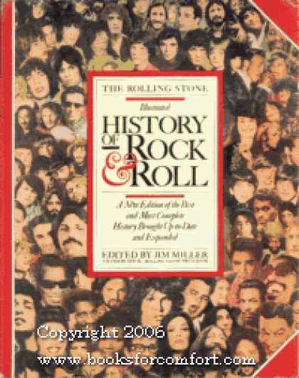 Books About Rock 'n Roll - The Rolling Stone Illustrated History of Rock & Roll