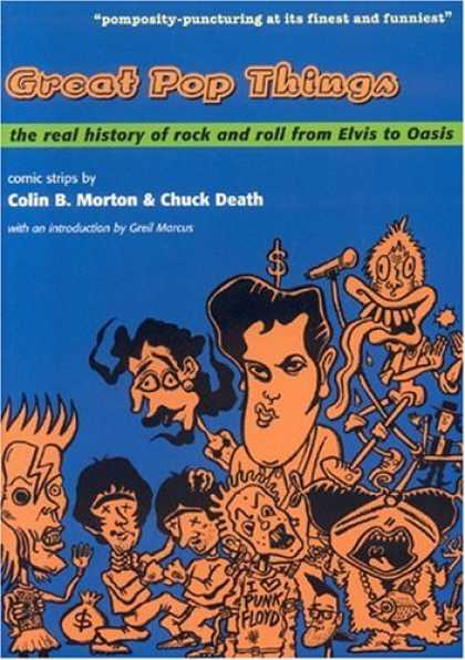 Books About Rock 'n Roll - Great Pop Things: The Real History of Rock and Roll from Elvis to Oasis