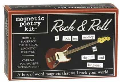 Books About Rock 'n Roll - Rock and Roll (Magnetic Poetry)
