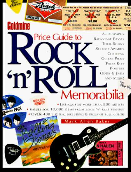 Books About Rock 'n Roll - Goldmine Price Guide to Rock `N' Roll Memorabilia (Goldmine's Price Guide to Roc