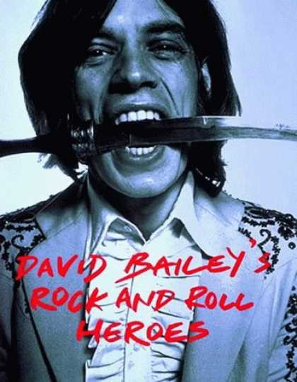 Books About Rock 'n Roll - David Bailey's Rock and Roll Heroes (Spanish Edition)