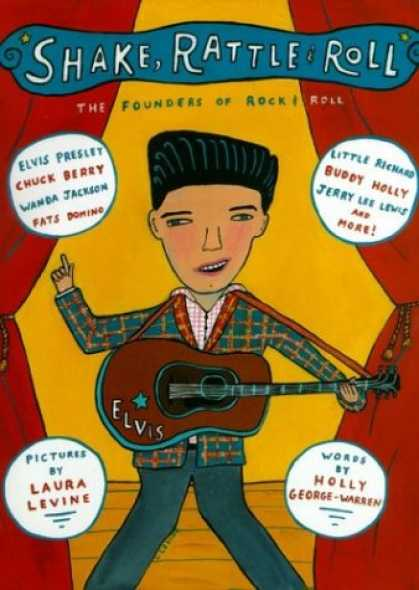 Books About Rock 'n Roll - Shake, Rattle & Roll: The Founders of Rock & Roll