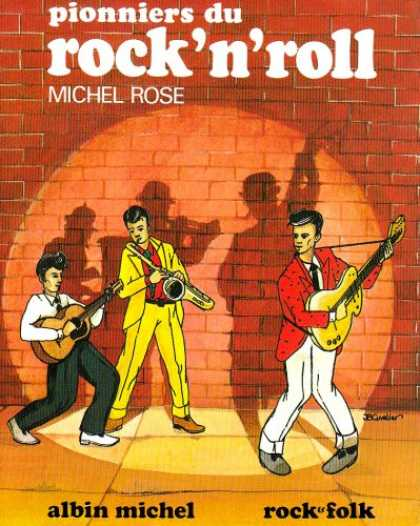 Books About Rock 'n Roll - Pionniers du rock'n'roll (Rock & folk) (French Edition)