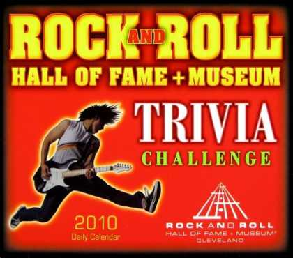Books About Rock 'n Roll - Rock & Roll Hall of Fame Trivia 2010 Daily Boxed Calendar (Calendar)