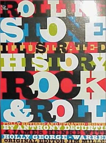 Books About Rock 'n Roll - The Rolling Stone Illustrated History of Rock and Roll: The Definitive History o