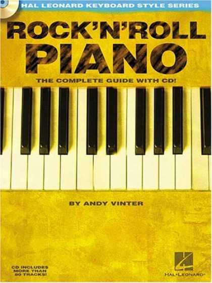 Books About Rock 'n Roll - Rock'N'Roll Piano: Hal Leonard Keyboard Style Series
