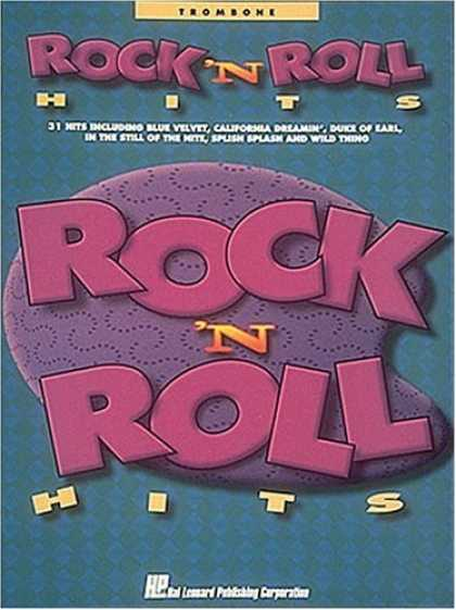 Books About Rock 'n Roll - Rock and Roll Hits - Trombone