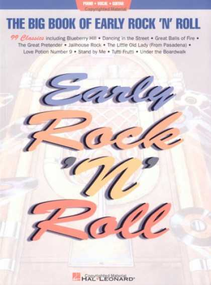 Books About Rock 'n Roll - Big Book of Early Rock n Roll (Big Books of Music)