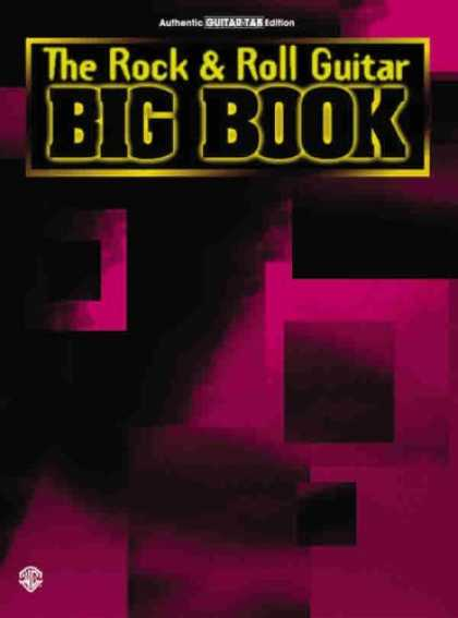 Books About Rock 'n Roll - Big Book/ Rock & Roll Guitar