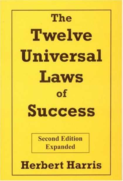 Books About Success - The Twelve Universal Laws of Success, Second Edition, Expanded
