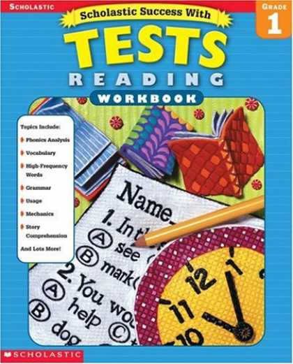 Books About Success - Scholastic Success with Tests: Reading Workbook Grade 1 (Grades 1)