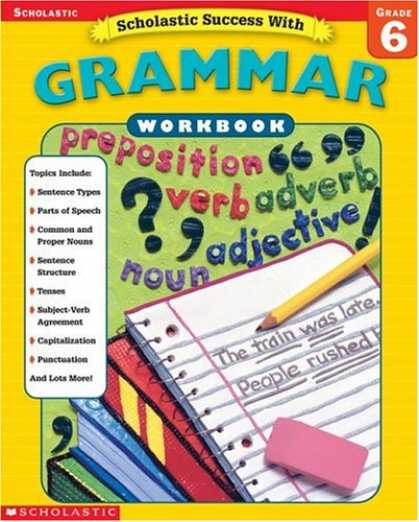 Books About Success - Scholastic Success with Grammar (Workbook) (Grade 6)