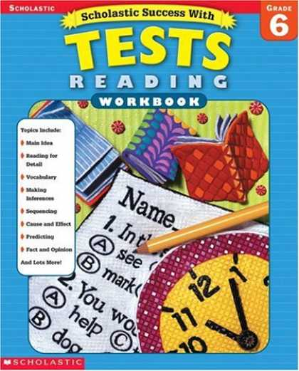 Books About Success - Scholastic Success with Tests: Reading Workbook Grade 6 (Grades 6)