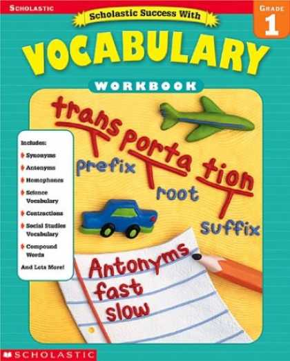Books About Success - Scholastic Success With Vocabulary Workbook Grade 1