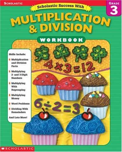 Books About Success - Scholastic Success With Multiplication & Division Workbook (Grade 3)