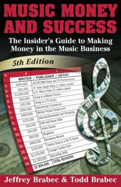 Books About Success - Music, Money and Success: The Insider's Guide to Making Money in the Music Indus