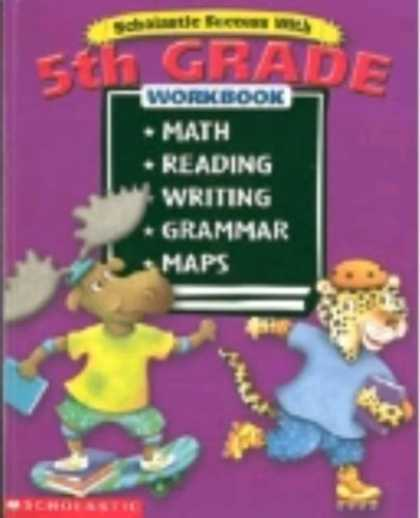 Books About Success - Scholastic Success With: 5th Grade Workbook (Bind-Up)
