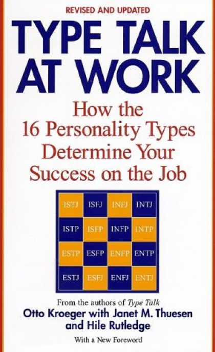 Books About Success - Type Talk at Work (Revised): How the 16 Personality Types Determine Your Success