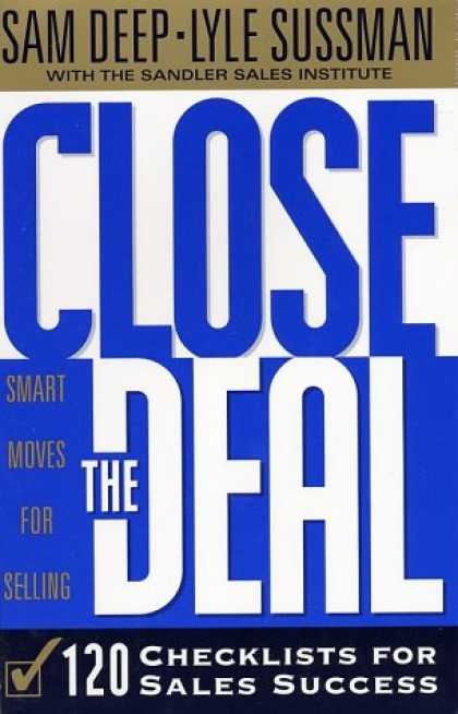 Books About Success - Close the Deal: 120 Checklists for Sales Success