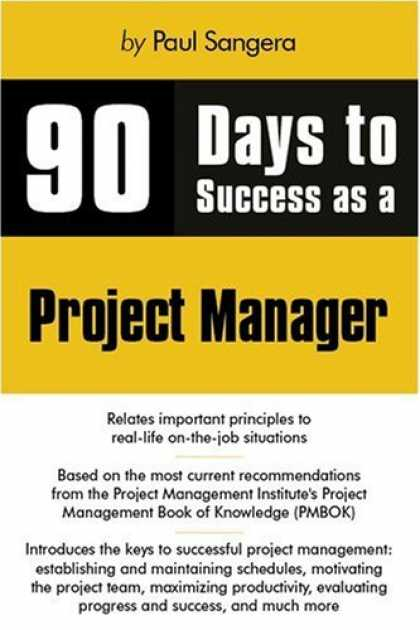 Books About Success - 90 Days to Success as a Project Manager