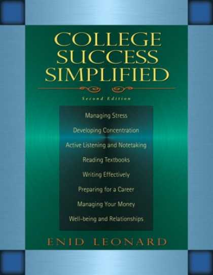 Books About Success - College Success Simplified (2nd Edition) (Pearson English Value Textbook Series)