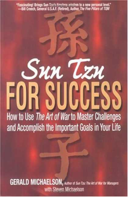 Books About Success - Sun Tzu For Success: How to Use the Art of War to Master Challenges and Accompli