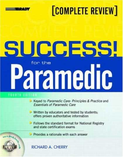 Books About Success - SUCCESS! for the Paramedic (4th Edition)