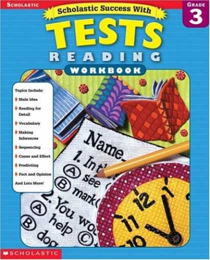 Books About Success - Scholastic Success with Tests: Reading Workbook Grade 3 (Grades 3)